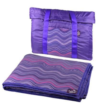 Коврик для пикника OnlyCute Волны радуги MAK7101BM с сумкой
