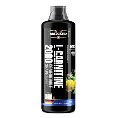 Maxler L-Carnitine 2000, 1000 мл, Lemon-Green Tea