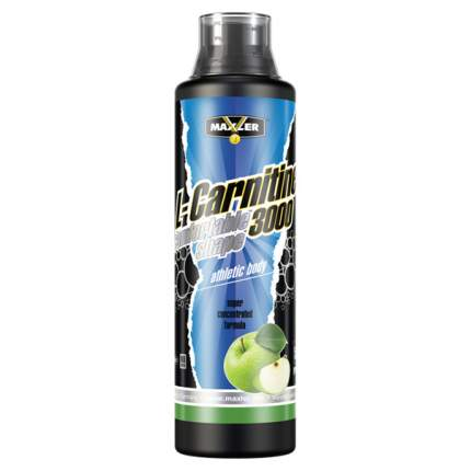 Maxler L-Carnitine 3000, 500 мл, Green Apple
