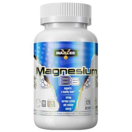 Магний и витамин B6 Maxler Magnesium B6 120 таблеток