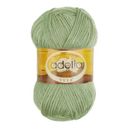 Пряжа ADELIA IVIA цвет 111 мятный 4 мотка