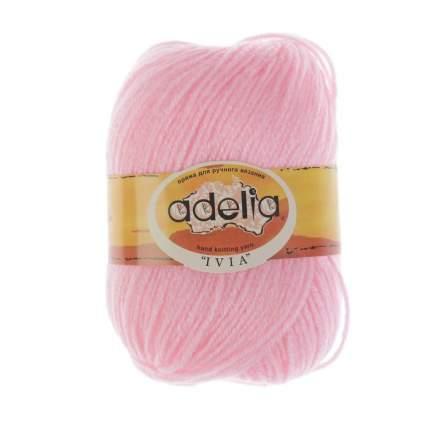 Пряжа ADELIA IVIA цвет 112 св.розовый 4 мотка