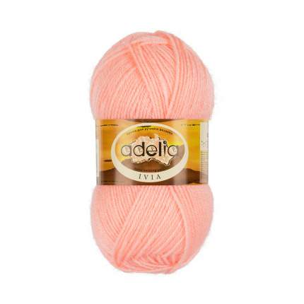 Пряжа ADELIA IVIA цвет 113 розовый 4 мотка