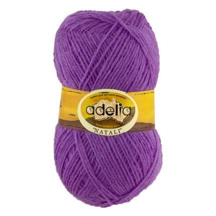 Пряжа ADELIA NATALI цвет 10 сиреневый 10 мотков
