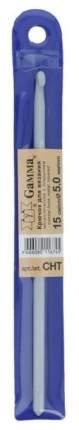 Вязание Крючок металлический c покрытием, 15 см, d 5,0 мм gamma-CHT-5,0, от Gamma