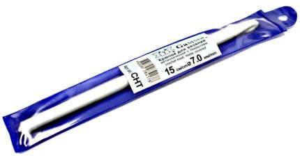 Вязание Крючок металлический c покрытием, 15 см, d 7,0 мм gamma-CHT-7,0, от Gamma