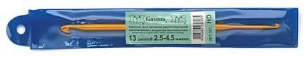 Крючок Gamma металлический двухсторонний 13 см d 2,5 - 4,5 мм