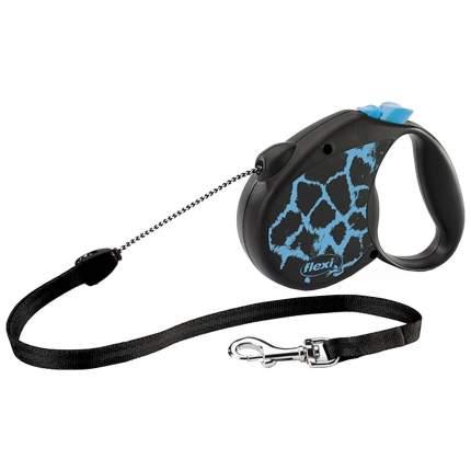 Рулетка для собак Flexi New Safari M Blue 5 м
