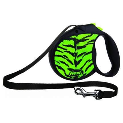 Рулетка для собак Flexi New Safari M Green 5 м