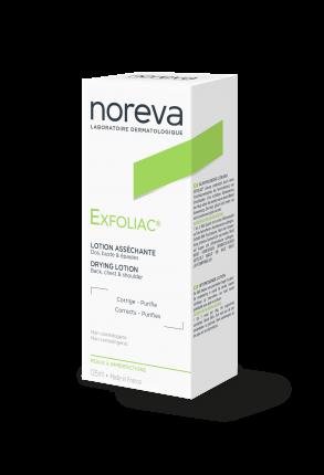 Лосьон для лица Noreva Exfoliac Drying Lotion 125 мл