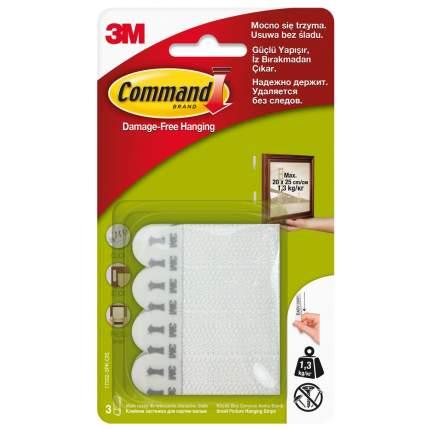 Застежки клейкие для картин, белые, малые, 3 пары Command, 17202-3PK