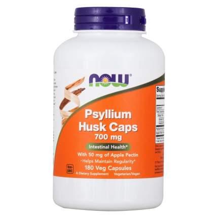 Для пищеварения NOW Psyllium Husk Caps 700 мг 180 капсул