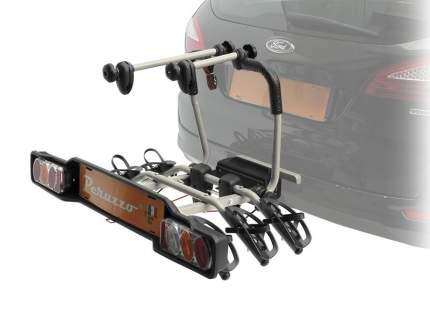 Peruzzo Автобагажник на фаркоп PARMA сталь, 3 велосипеда