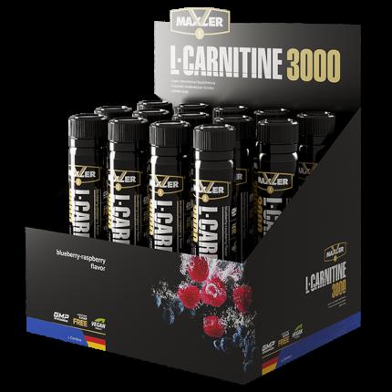 Л-карнитин MAXLER L-Carnitine 3000 14x25 мл (Лесные ягоды)