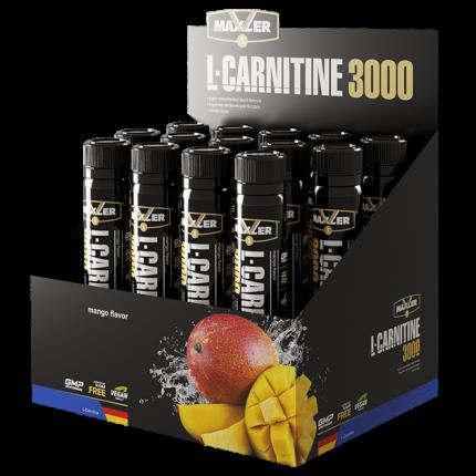 Л-карнитин MAXLER L-Carnitine 3000 14x25 мл (Манго)