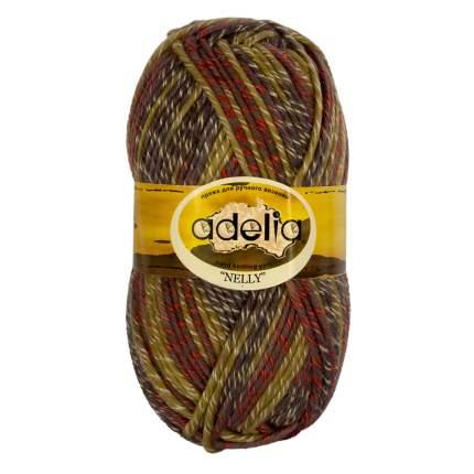 "Вязание Пряжа ADELIA ""NELLY"" 5 шт, в упак, св,хаки-серый NELLY-09, 100 м от Adelia"