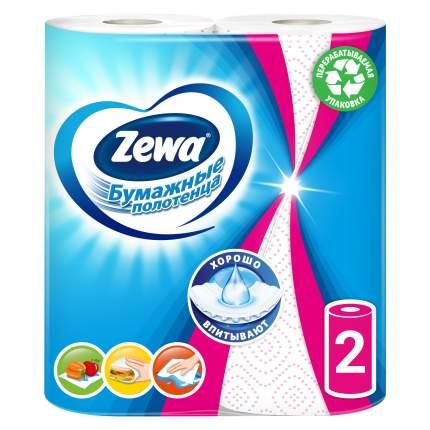 Бумажные полотенца Zewa декор 2 рулона