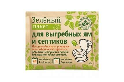 Зеленый пакет для выгребных ям и септиков пакет 40г Випэко