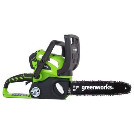 Аккумуляторная цепная пила Greenworks G40CS30-SET-2 20117ua