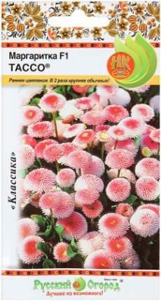 Семена цветов Русский огород 700585 Цветы Маргаритка Тассо F1 20 шт.