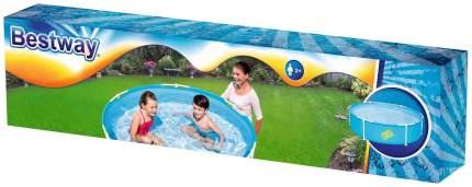 Каркасный бассейн Bestway 56283 152x152x38 см
