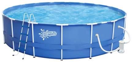 Каркасный бассейн Polygroup Summer Escapes P20-1248 366x366x122 см