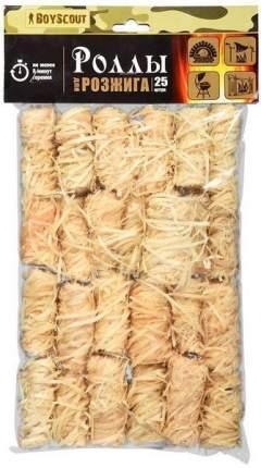 Роллы для розжига мангалов, барбекю, каминов и печей, 25 штук
