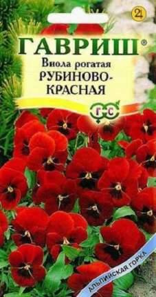 Семена цветов Гавриш Виола Рубиново-красная рогатая 0,01 г