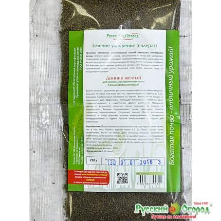 Семена газонных трав и сидератов Русский огород 759012 Сидерат Донник желтый 250 г