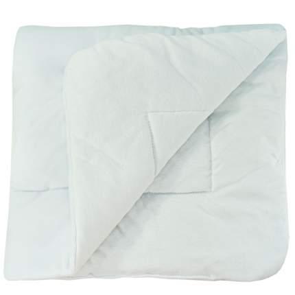 Конверт-одеяло Папитто велюр с вышивкой Белый 2157