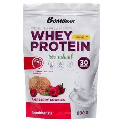 Протеин Bombbar Whey Protein, 900 г, raspberry cookies