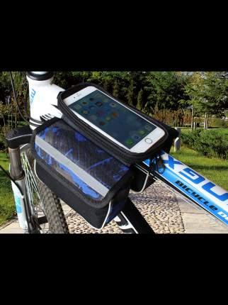 Велосипедная сумка MoscowCycling MC-BAG-06 синяя