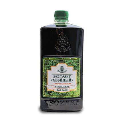 Экстракт Хвойный натуральный для ванн с эфирным маслом ромашки 1 л