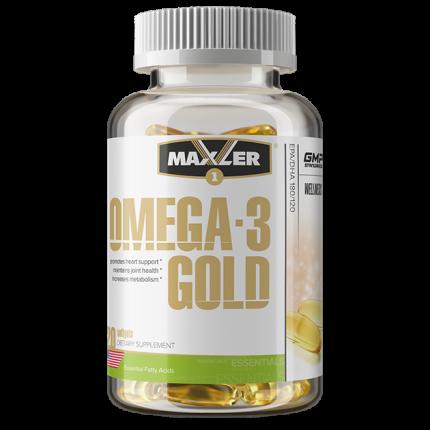 Omega-3 Maxler Gold 120 капсул