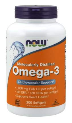 Omega-3 NOW 200 капс.