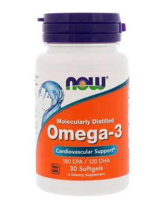 Omega-3 NOW 30 капс.