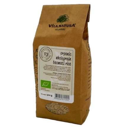 Крупа Био Vila natura рис басмати коричневый 2*500 г