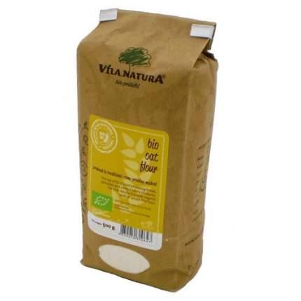 Мука овсяная жерновая био Vila Natura 2 пакета по 500 г