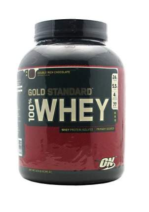 Протеин Optimum Nutrition 100% Whey Gold Standard, 2270 г, double rich chocolate