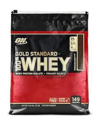 Протеин Optimum Nutrition 100% Whey Gold Standard, 4540 г, double rich chocolate