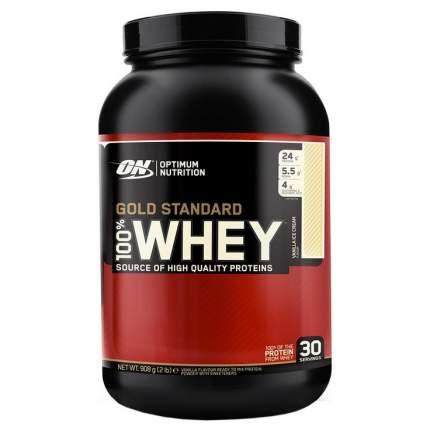 Протеин Optimum Nutrition 100% Whey Gold Standard, 908 г, vanilla ice-cream