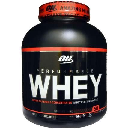 Протеин Optimum Nutrition Performance Whey, 1950 г, chocolate shake