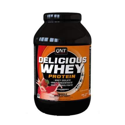 Протеин QNT Delicious Whey Protein 2200 г Strawberry