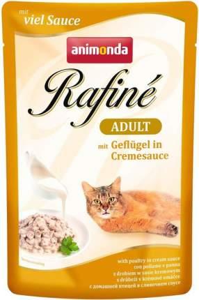 Влажный корм для кошек Animonda Rafine Adult, с птицей в сливочном соусе, 12шт по 100г