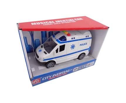 """Машинка """"Полиция"""", пластмассовая, со звуковыми и световыми эффектами, 18,5х9х13 см"""