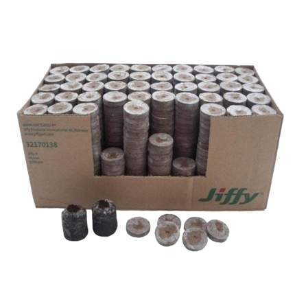 Торфяные таблетки для рассады Jiffy НК000107 33 мм