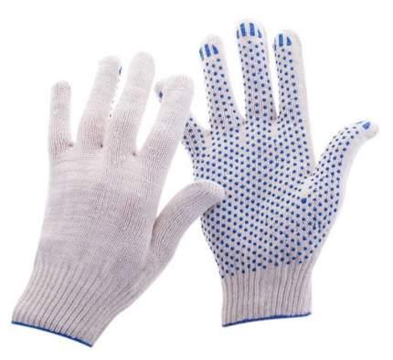 Перчатки х/б (3/10) белые (ХБ-ОПТ)