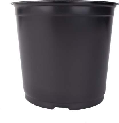 Горшок для рассады d12см h10.5см 0,8л черный Агроком