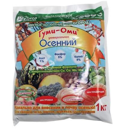 Органоминеральное удобрение БашИнком Осенний Гуми-Оми НК031310 1 кг