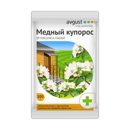 Средство защиты растений от болезней Август НК000035 Медный купорос 100 г
